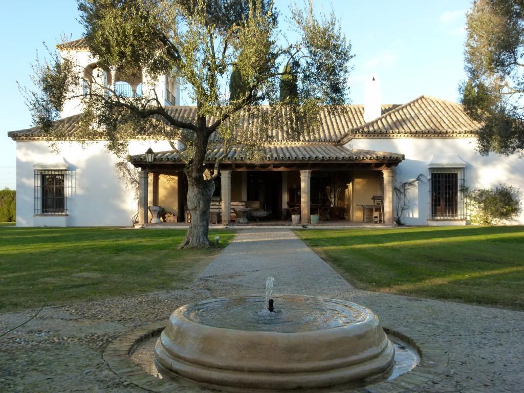 Vistaj general Hacienda el Burgo